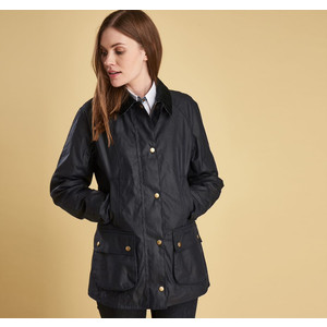 Abbey Wax Jkt Royal Navy