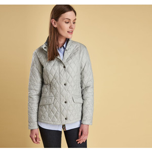 Victoria Quilt Jacket Ice White