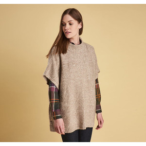 Barbour Malvern Cape in Oatmeal