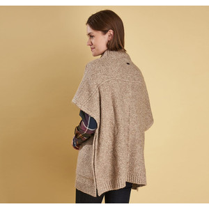 Barbour Malvern Cape Oatmeal