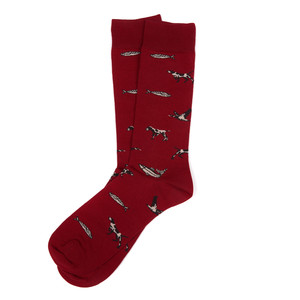 Animal Mix Socks Red