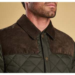Barbour Gillock Quilted Coat Sage