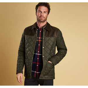 Gillock Quilted Coat Sage