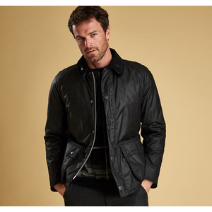 Strathyre Wax Jacket Black