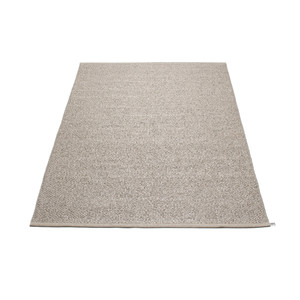 Svea Reversible Rug - 140 x 220 Metallic/Mud