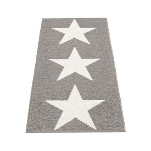 Viggo Star Reversible Rug - 70 x 150 Mud Metallic/Vanilla