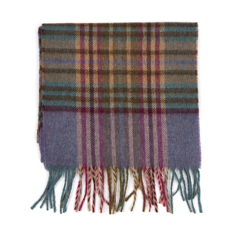 Barbour Dunnock Scarf Lilac/Multi