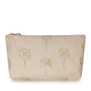Palmier Pouch Taupe