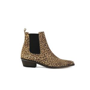 Ivylee Stella Leopard Boot Beige