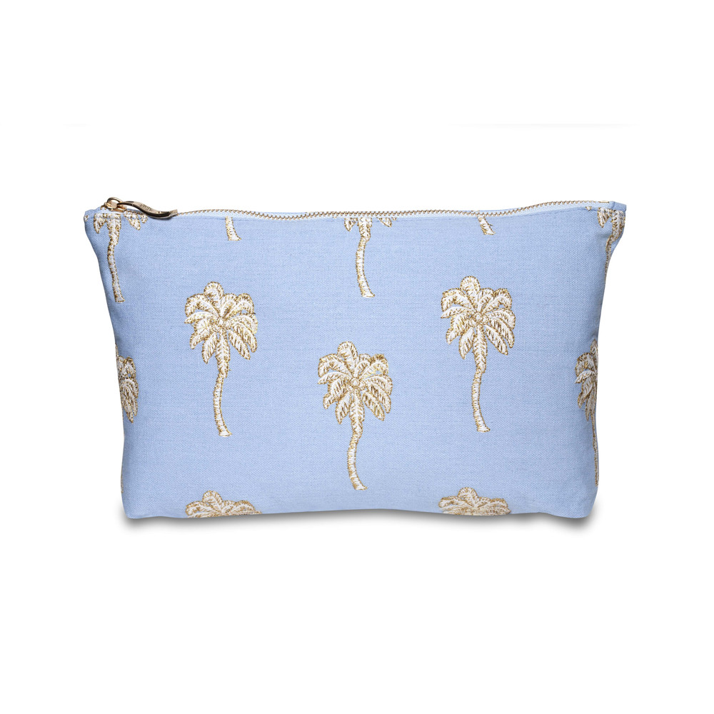 Elizabeth Scarlett Palmier Wash Bag Chambray