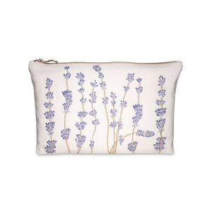 Lavandou Wash Bag 100% Cotton Parchment