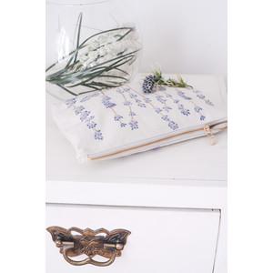 Elizabeth Scarlett Lavandou Wash Bag 100% Cotton Natural