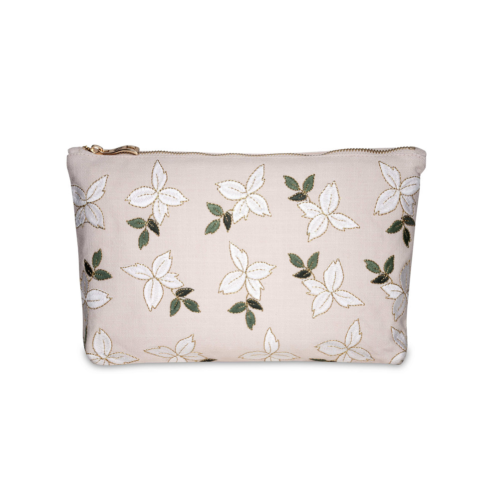 Elizabeth Scarlett Jasmine Wash Bag 100% Cotton Rose Pink