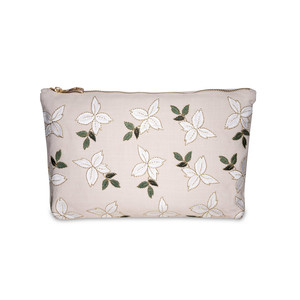 Jasmine Wash Bag 100% Cotton Rose Pink
