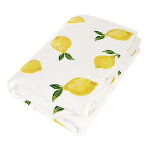 Lemon 100% Cotton Quilt White