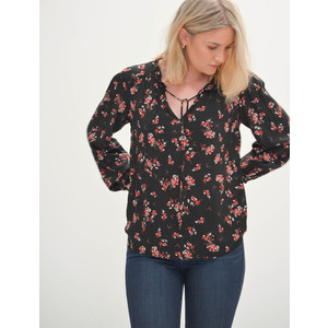 Adanya Floral Blouse Cherry Blossom