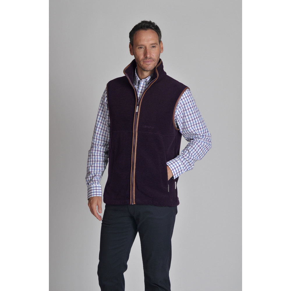 Schoffel Country Oakham Gilet Aubergine