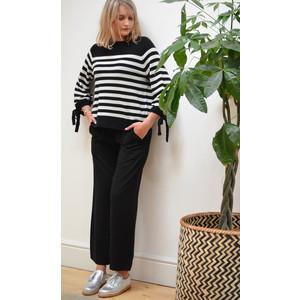 Velvet Paris Wide Leg Trousers with Stretch Waist Firefly