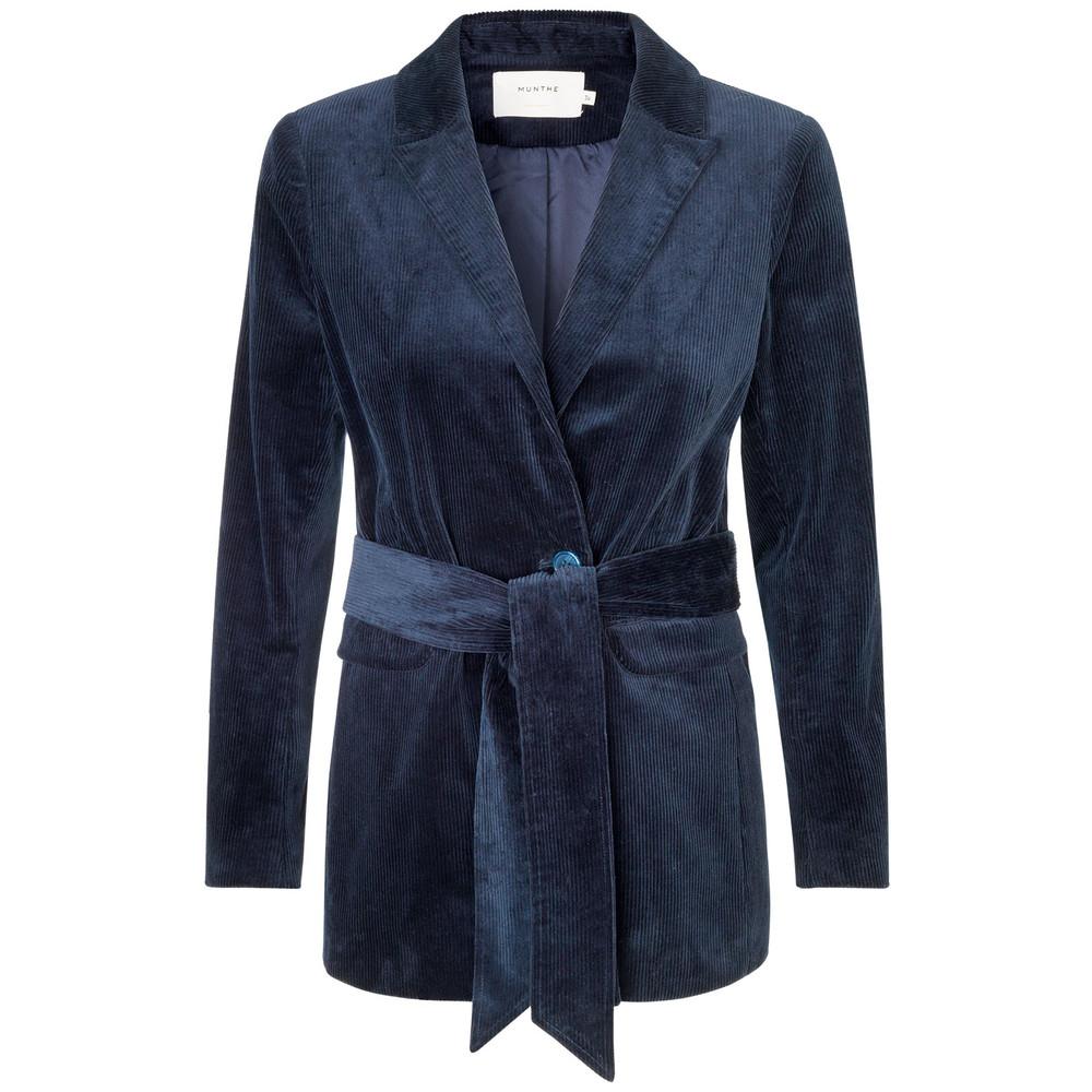 Munthe Velture Cord Jacket Indigo