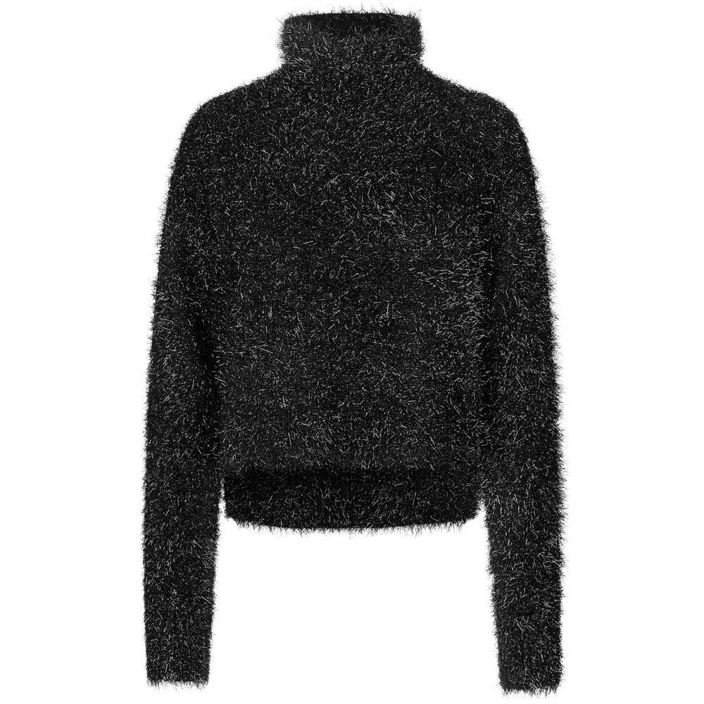 Munthe Vanessa Sparkle Knit Jumper Black