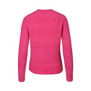 Samsoe Samsoe Eta Open Neck Sweater Fuchsia
