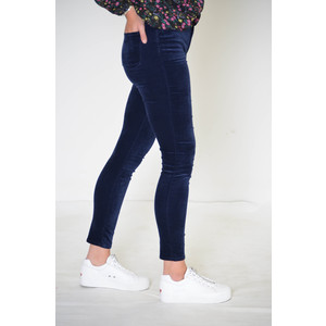 J Brand Maria Velvet Skinny High Rise Jean Night Out