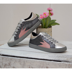Faith Lo Trainer with Metallic Tongue