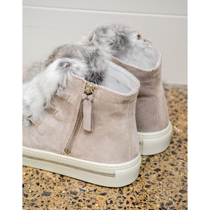 Alpe Fur Front Ankle Boot Polar