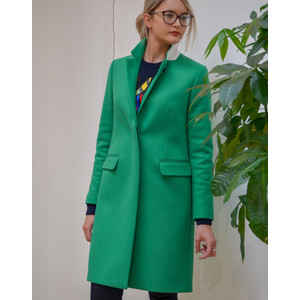 Paul Smith Womens Epsom Coat Green