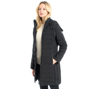 Devlin Quilted Coat Black