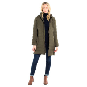Devlin Quilted Coat Olive