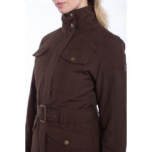 Dubarry Friel Utility Jacket with Belt Coffee Bean