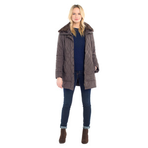 Kenmare Quilted Jacket Smoke