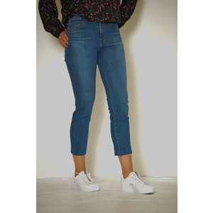 Ruby Cropped Cigarette High Rise Jean