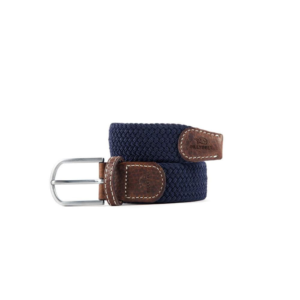 Billybelt The Braided Belt Navy Blue