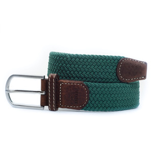 The Braided Belt Olive Green