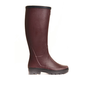Giverny Wellington Boot Cherry