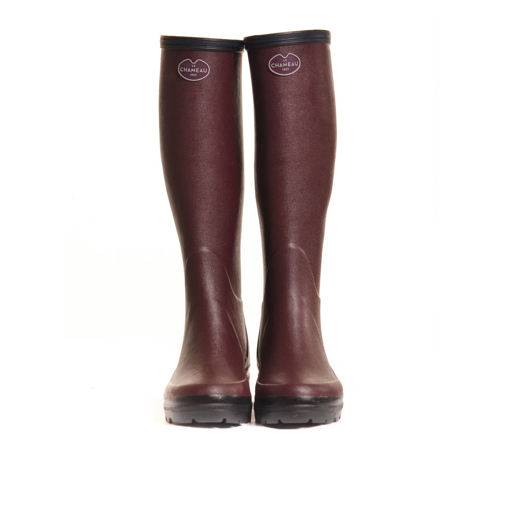 Le Chameau Giverny Wellington Boot Cherry