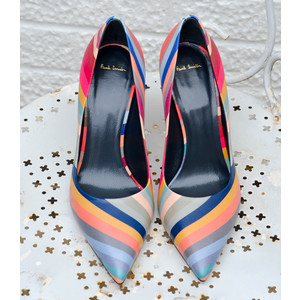 Paul Smith Shoes Blanche Swirl Point Heels Multi