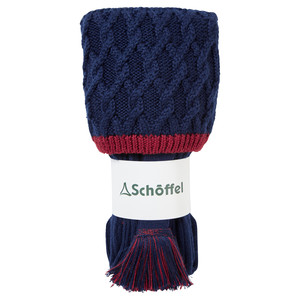 Lattice Sock Navy