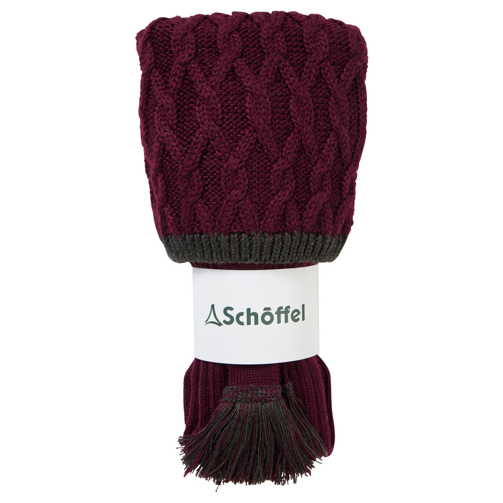 Schoffel Country Lattice Sock Mulberry