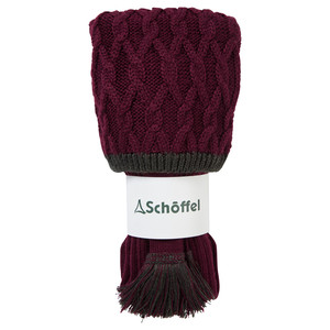 Schoffel Country Lattice Sock in Mulberry