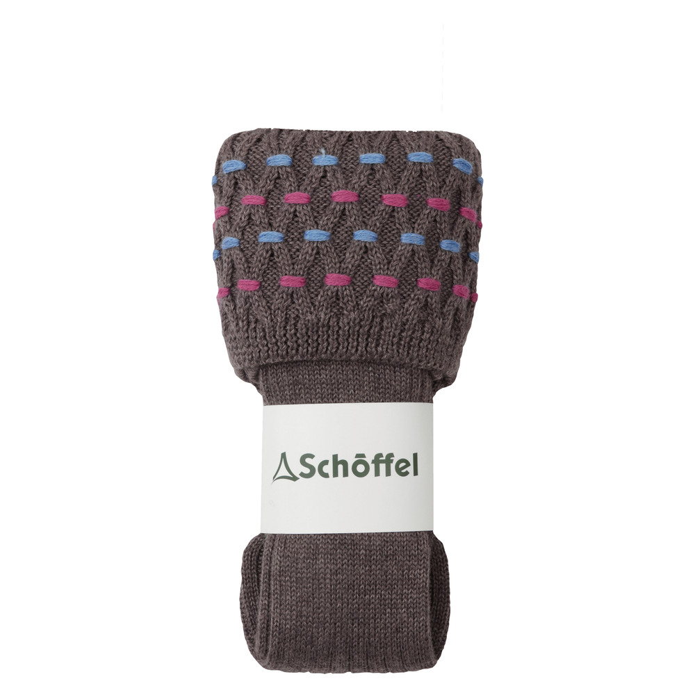 Schoffel Country Stitch Sock Mink
