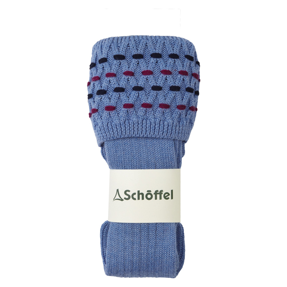 Schoffel Country Stitch Sock II Bluebell