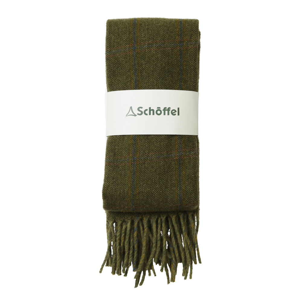 Schoffel Country House Tweed Scarf Sandringham Tweed