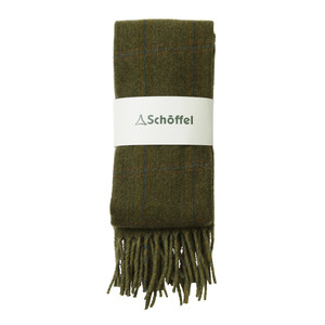 Schoffel Country House Tweed Scarf in Sandringham Tweed