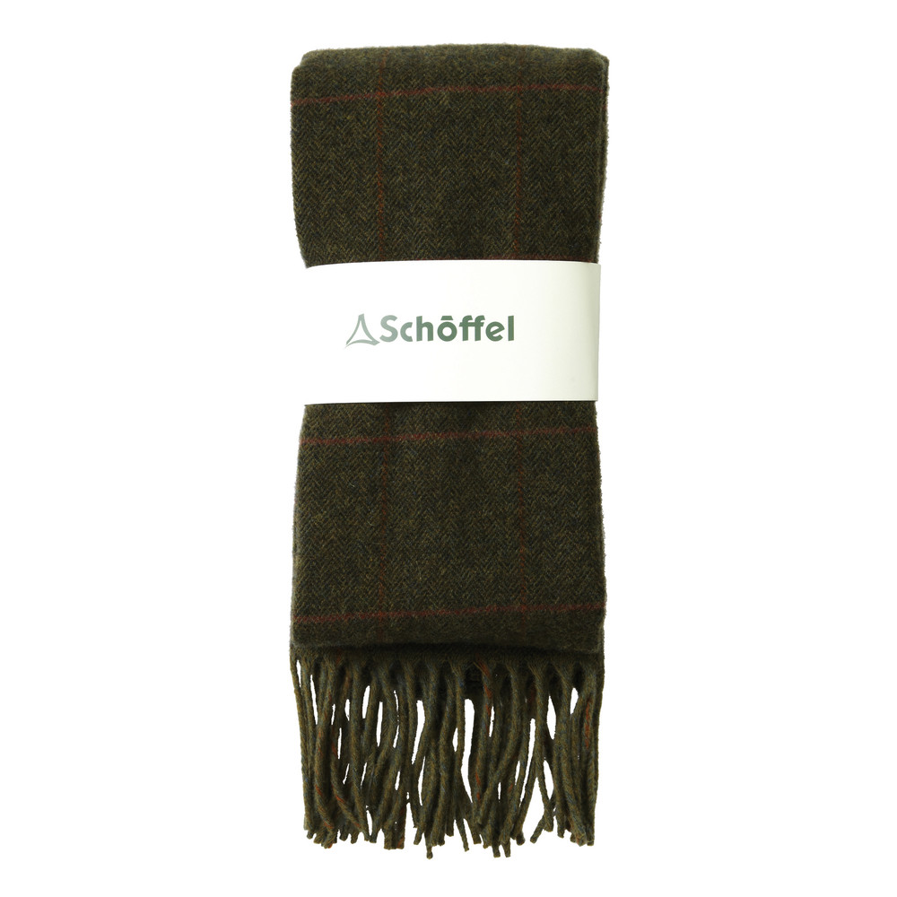 Schoffel Country House Tweed Scarf Windsor Tweed