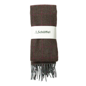 Schoffel Country House Tweed Scarf in Cavell Tweed