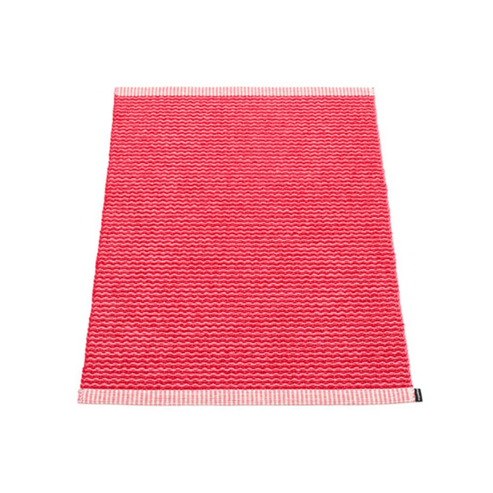 Pappelina Mono Rug Cherry/Pink