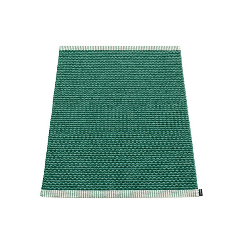 Pappelina Mono Rug Dark Green/Jade